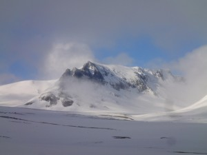 Silkentjahke 1315 m.
