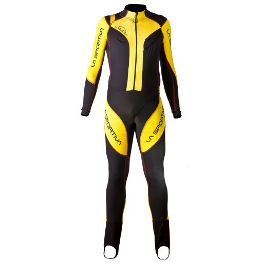 Syborg Racing Suit grey-yellow (A11GY)