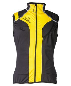 Syborg Racing Vest M grey-yellow (A12GY)
